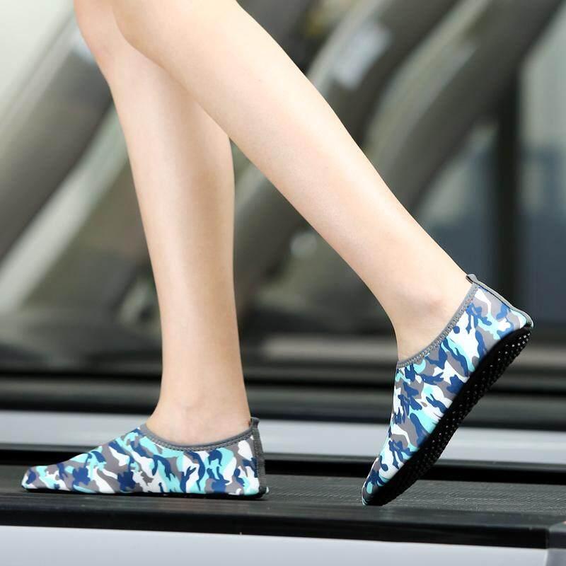 Kolam Sepatu Fitness Kaus Kaki Sepatu Treadmill Yoga Sepatu Snorkeling untuk Wanita-Intl