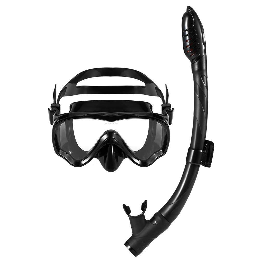 Lixada Anak-Anak Scuba Masker Selam Tabung Masker Snorkeling Kacamata Kacamata Menyelam Renang Mudah Napas Snorkel Kering-Intl By Tomtop.