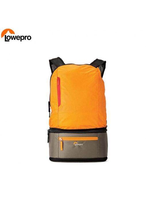 Lowepro Passport Duo Backpack and Weist pouch Camera Bag for canon Sony Nikon Olympus (Orange)