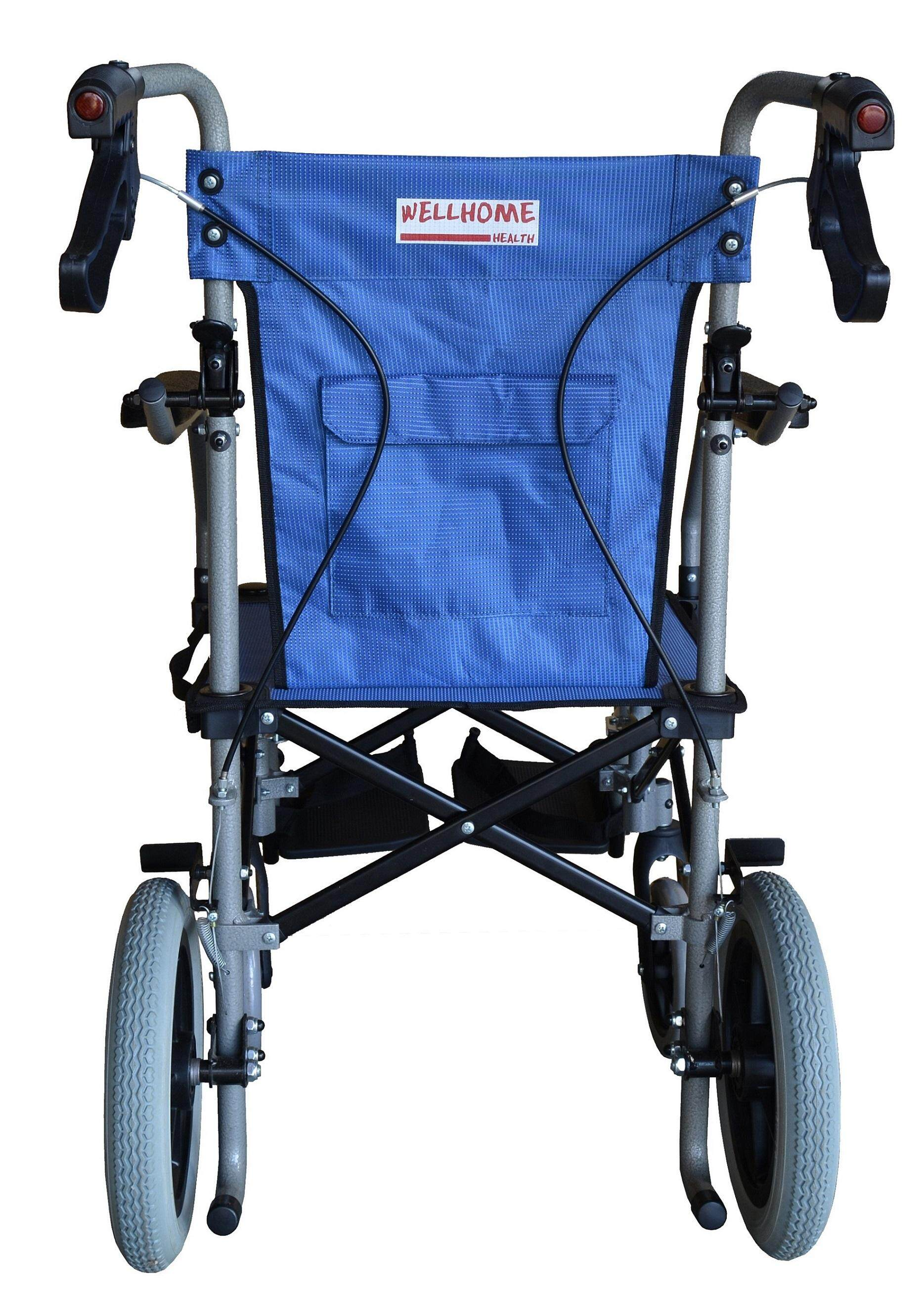 Lohas Air, Compact Luggage wheelchair with ONLY 8.5kg and 7.7KG( W/O footrest)