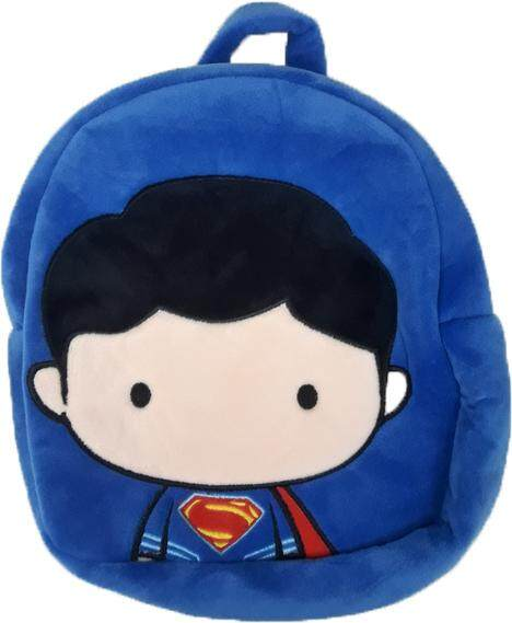 Justice League Superman Chibi Plush Backpack