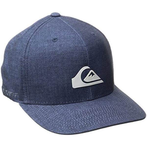 Quiksilver Mens Platypus Stretch Hat Dark Denim