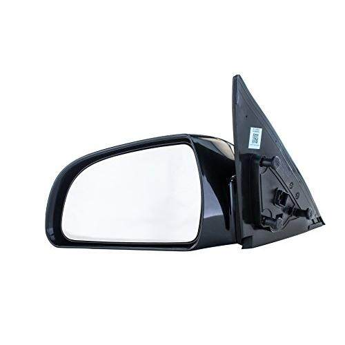 Dependable Direct Driver Side Mirror for Hyundai Sonata (2006 2007 2008 2009 2010) Left Outside Rear View Unpainted Power Adjusting Heated Non-Folding Replacement Door Mirror