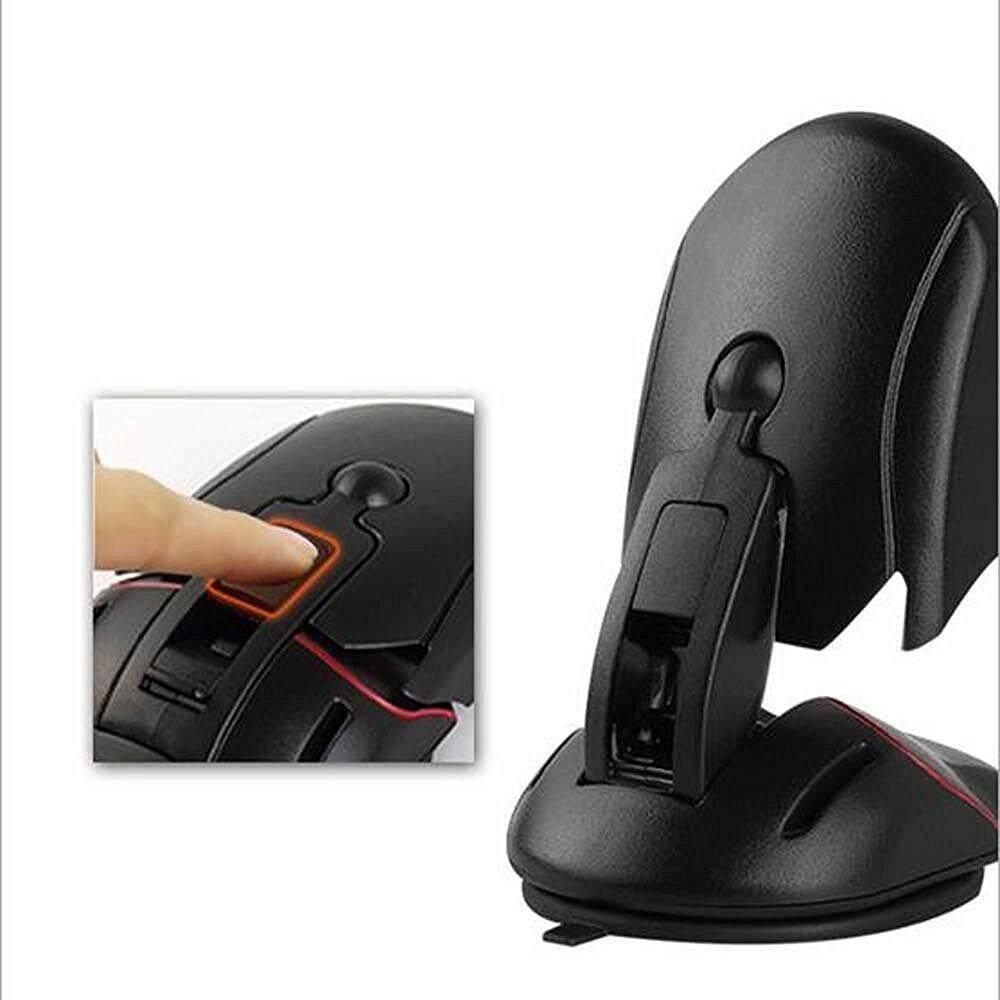 Kerui Telepon Mobil Universal Dudukan Kaca Depan Telepon Seluler Penopang Dalam Mobil 360 Rotatable Mount untuk
