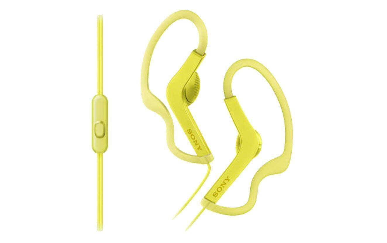 Earphone Sony Extra Bass Mdr Xb55ap Original Malaysia Sports Bluetooth In Ear Headphone Xb80bs Merah Genuine As210ap Splashproof With Adjustable Loop Hangers