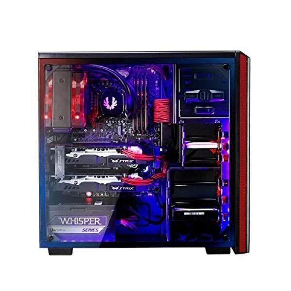 [From.USA]BitFenix Nova TG Black, Gaming Case, ATX/mATX/Mini ITX Mid Tower Case - Tempered Glass Window, -BFX-NTG-100-KKWSK-RP B074MHBT3F Malaysia