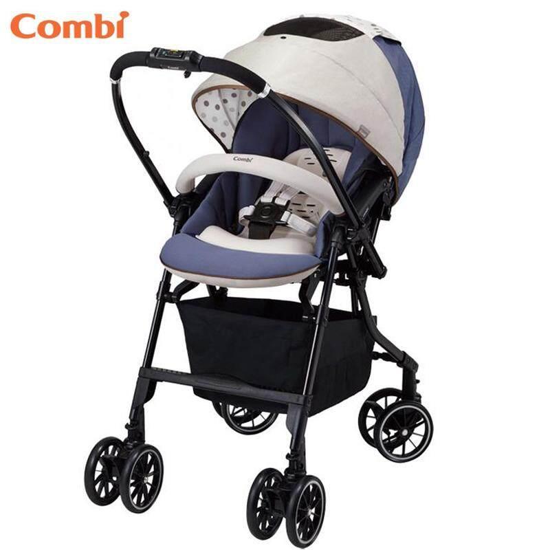Combi Blue Mechacal Handy Auto 4cas Baby Stroller Egg Shock The Lightest Model