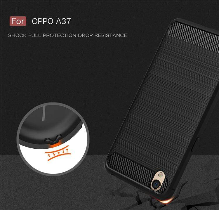 ... FIBER LINE case Oppo A37 A37f - Oppo Neo 9 softcase casing carbon tpu back cover ...