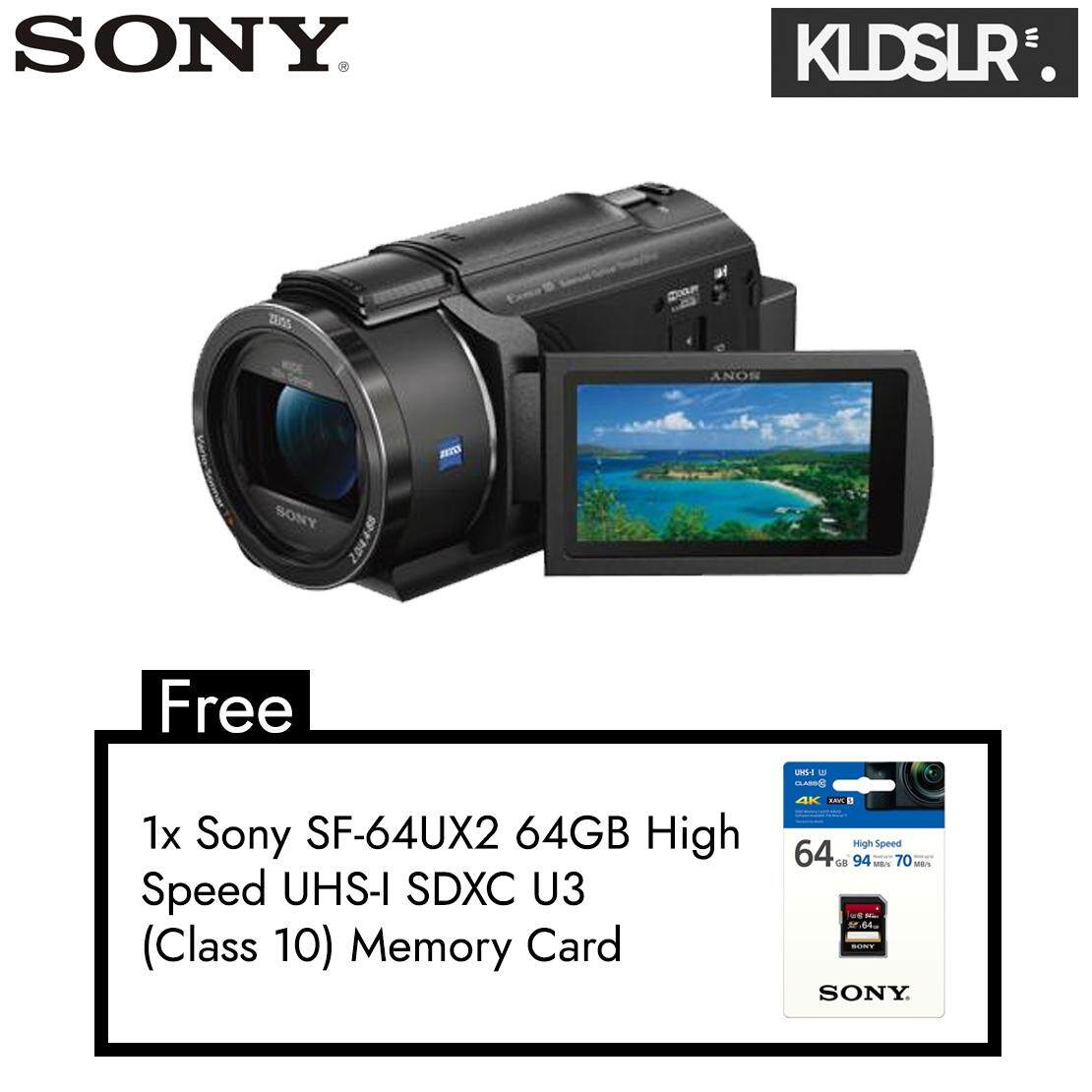 Sony Handycam FDR-AX40 Digital 4K Video Camera Recorder