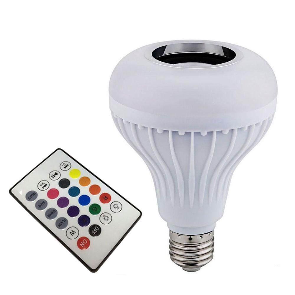 LED Music Bulb LED Loudspeaker Smart Wireless Bluetooth 4.0 Bar Music Playing Singapore