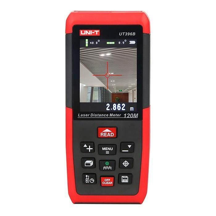 UNI-T UT396B Profesional Laser Jarak Meter Lofting Uji Leveling Instrumen Daerah/Penyimpanan Data dengan Volume Maksimum 120 M 2MP Kamera merah-Internasional