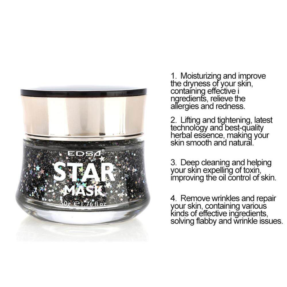 ... Star Mask Starry Sky Glow Glitter Sequin Mask Peel off Moisturizing Mask Facial Skin Care -
