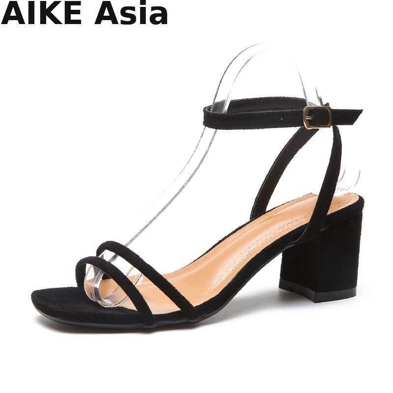 2018 Summer Women Shoes Pumps Dress Shoes High Heels Boat Wedding Shoes Tenis Feminino With Peep Toe Sandals A-05