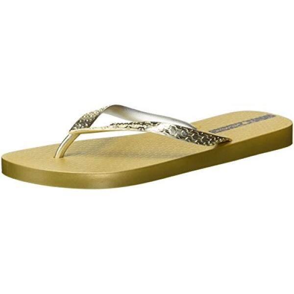 Ipanema Womens Glam Flip-Flop, Gold, US - intl