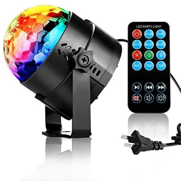 NIUBIER Disco Ball Disco Lights Party Lights Music Activated Lightshow Kids Karaoke Disco Light LED Party Suppliers for Home Room Dance Decorations Birthday DJ Wedding Club Night Lights - intl