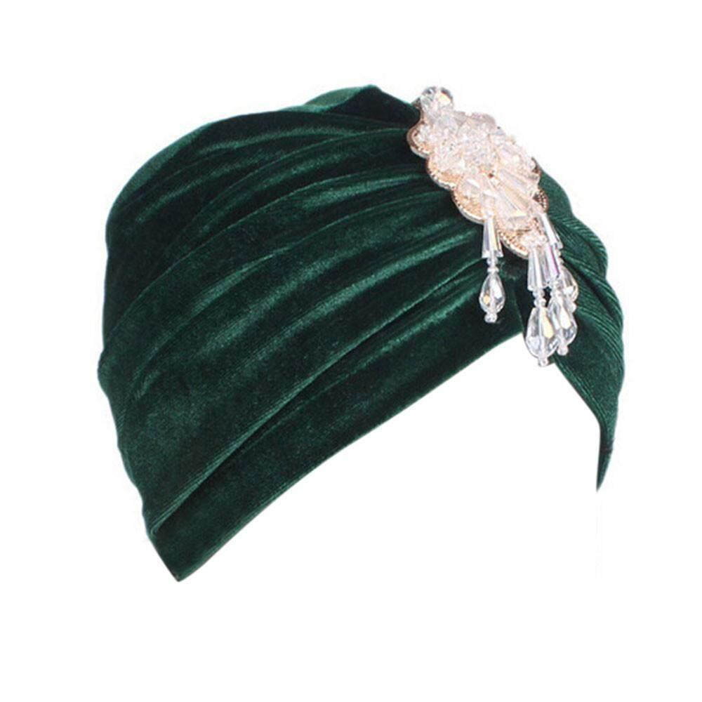 Wanita Kanker Topi Chemo Beanie Syal Selendang Kepala Turban Cap  Fashionting-Intl . c30c0b5a87