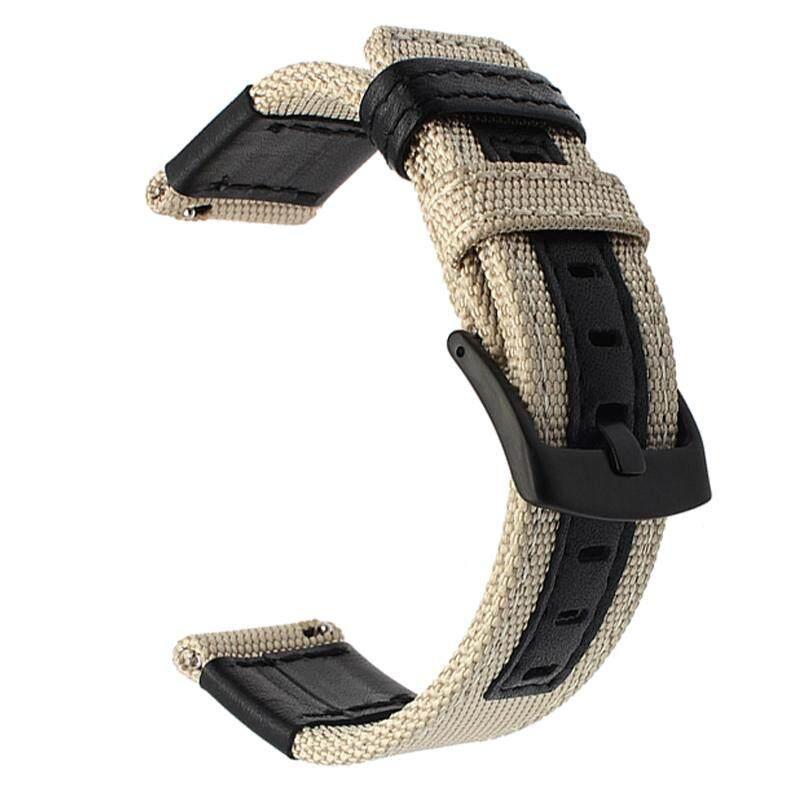 Gelang Tali Nilon, Bukan Jam,tali Jam Dengan Gesper Baja Tahan Karat Untuk Jam Tangan Samsung Galaxy 42mm 46mm By Aige666 Shop.