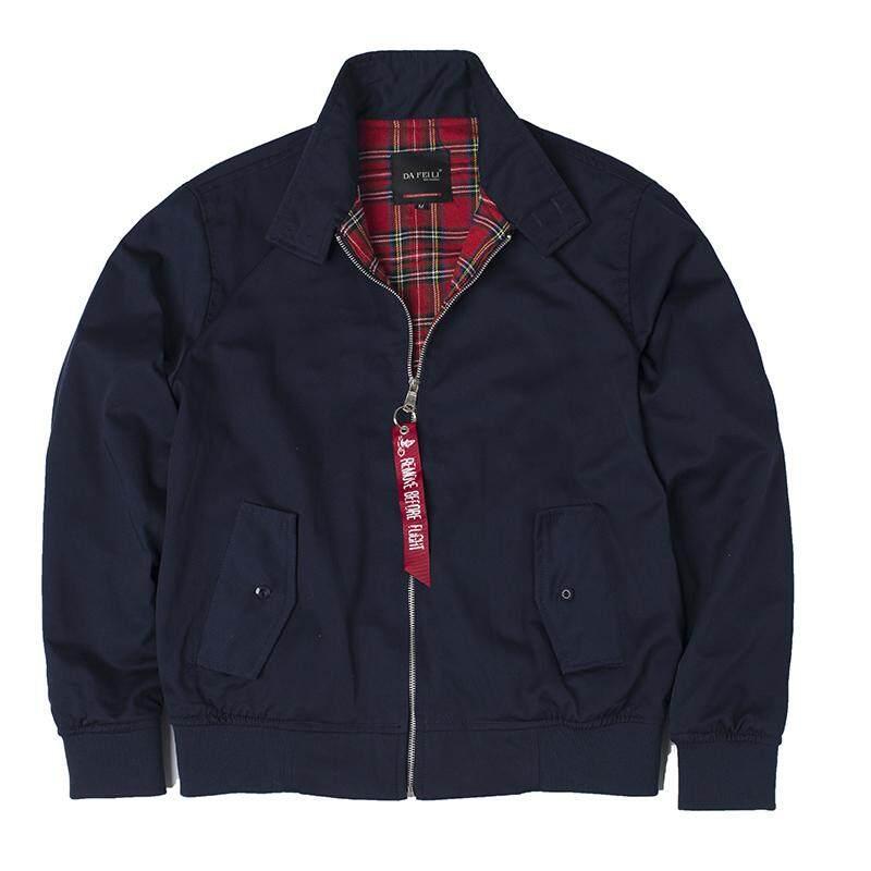 ZZOOI 2018 Autumn Harrington Vintage Windbreaker Bomber Jacket Men European Style Military Plus Size Cotton Casual
