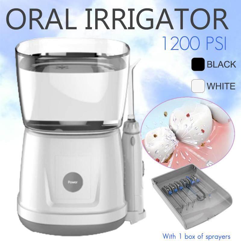 Oral Irrigator Dental Water Jet Power Floss Air Power Flosser SPA Teeth Cleaner White
