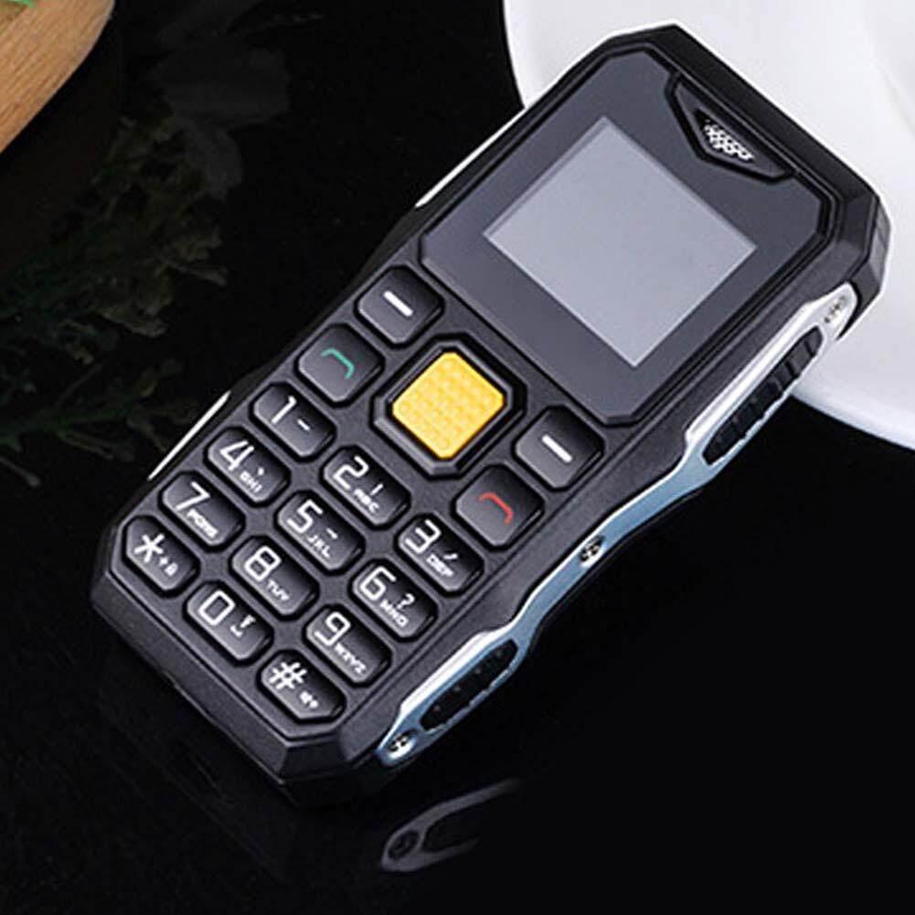Asli Baru Standby Dalam Waktu Lama Besar Suara Senter FM Mini Ukuran Kecil Telepon Genggam Berat