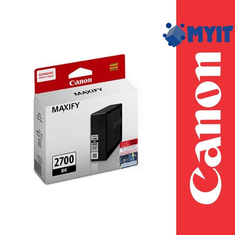 Canon Original PGI-2700 Black Ink Cartridge for MAXIFY iB4170 MB5170 MB5470