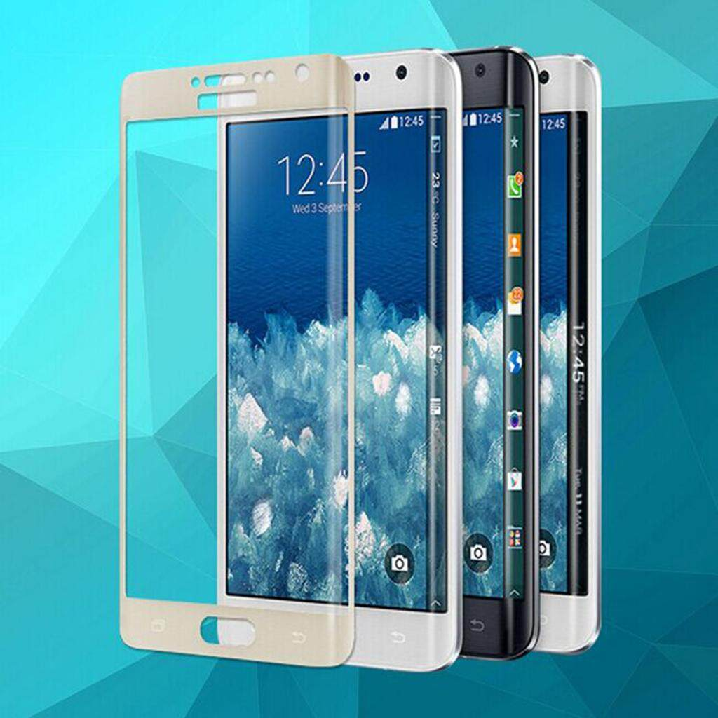 ... Keajaiban Bersinar Kaca Anti Gores Hitam Pelindung Layar untuk Samsung Galaxy Note Edge N9150-Intl ...