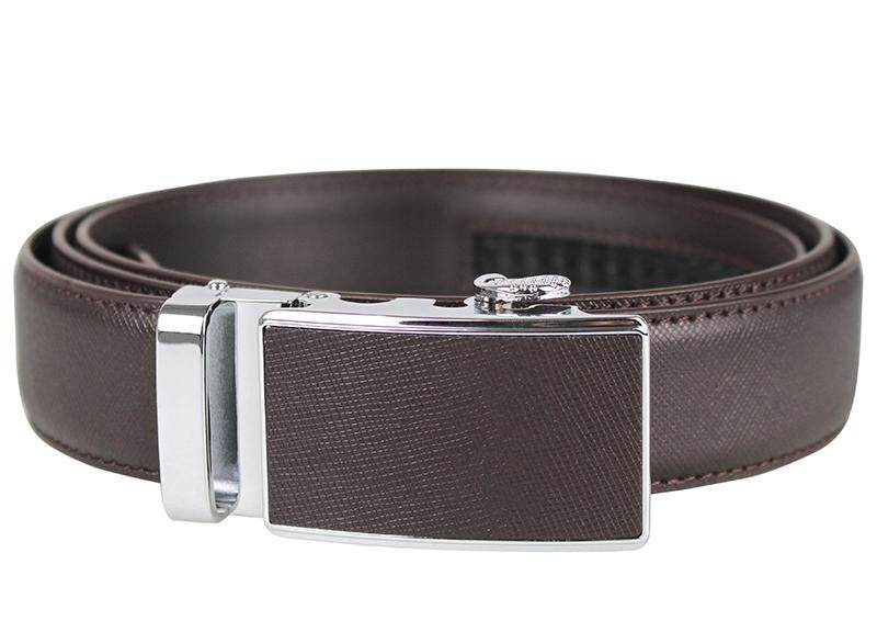 Tomaz NT32 Leather Belt (Coffee)