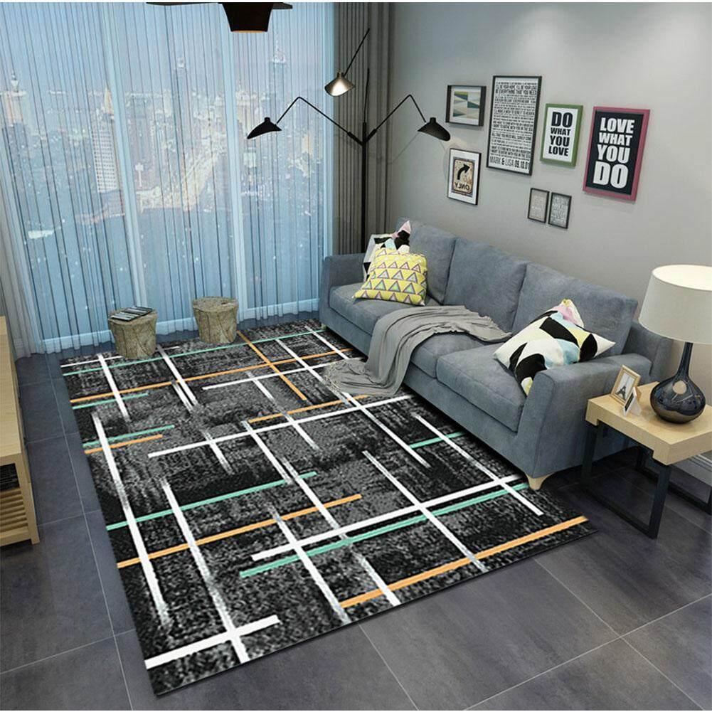 80*120cm Rectangle Carpet Mat Soft Non-slip Floor Rug for Living Room Coffee Table Room Bedroom Decor