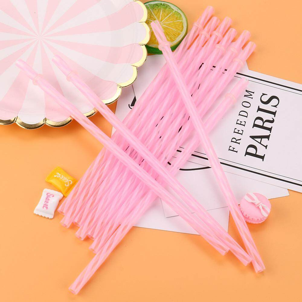 Buy Sell Cheapest Durahome Plastik Sedotan Best Quality Product Unik Lucu Menarik 50 Pcs Colorful Reusable Keras Garis Minum Dekorasi Pesta Alat Dapur