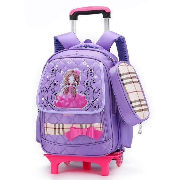Trẻ Em Xe Đẩy Trường Túi Sinh Viên Rời Backpack RTO1
