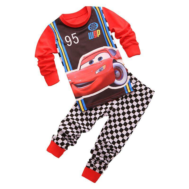 db5749c8289d MuXing Clothing Sets Boys Sleepwear Clothes Kids Batman Pajamas Set Baby  Girls Cotton Cartoon Pijamas Spring