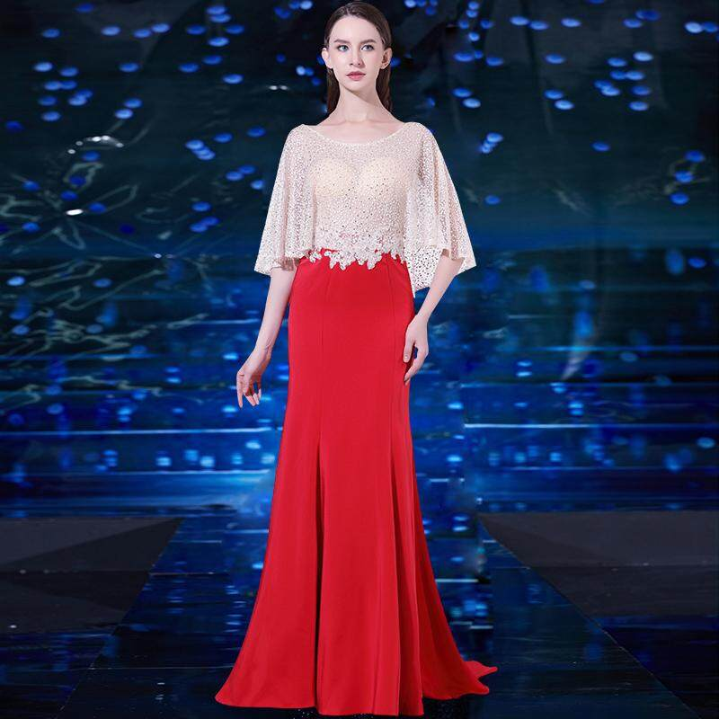 Late Formal dress for women 2018 New Style Nobility Elegant dress for women  for Toast Host fbe78c33b1ca