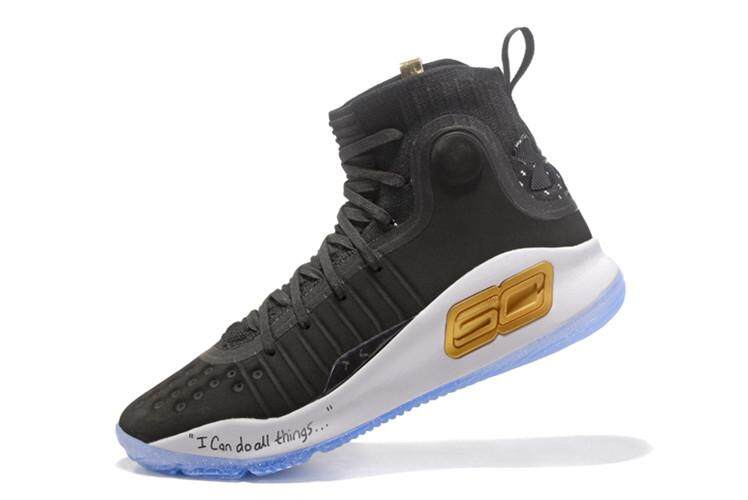 Under Armour Original Stephen Curry Curry 4.0 Mid Top Sneakers MEN  Basketaball Shoe SC ( Black 9580bf74eb