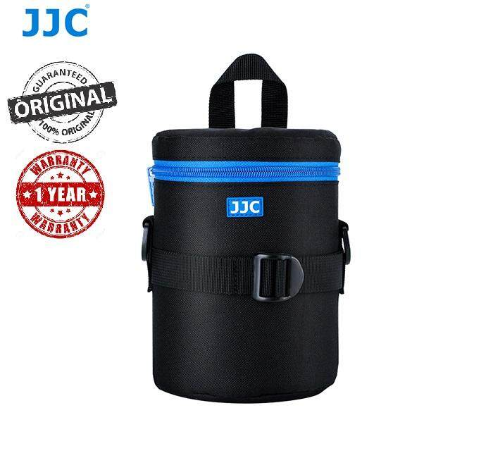 JJC DLP-4II Water Resistant Deluxe Lens Pouch with Shoulder Strap fits Lens Size below 100 x 182mm