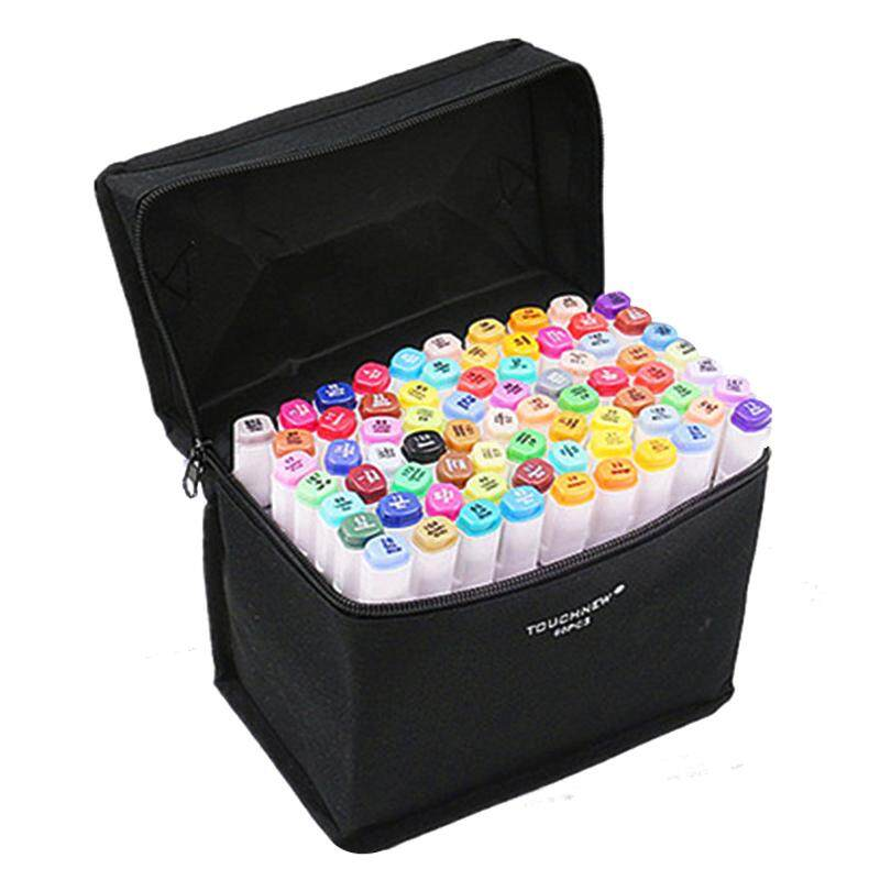 TOUCHNEW 40 Colors Artist Dual Head Sketch Markers Set For Manga Marker School Drawing Marker Pen Design Supplies(Animation design)