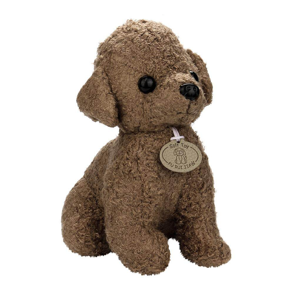 25CM Adorable Kawaii Poodle Puppy Soft Plush Toy Doll Cute Stuffed Toy Gifts - intl