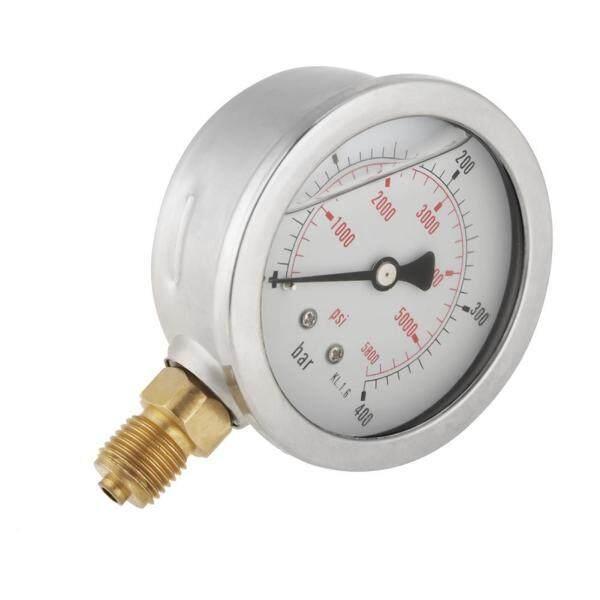 0-400BAR 0-5800PSI G1/4 63mm Dial Hydraulic Pressure Gauge Meter