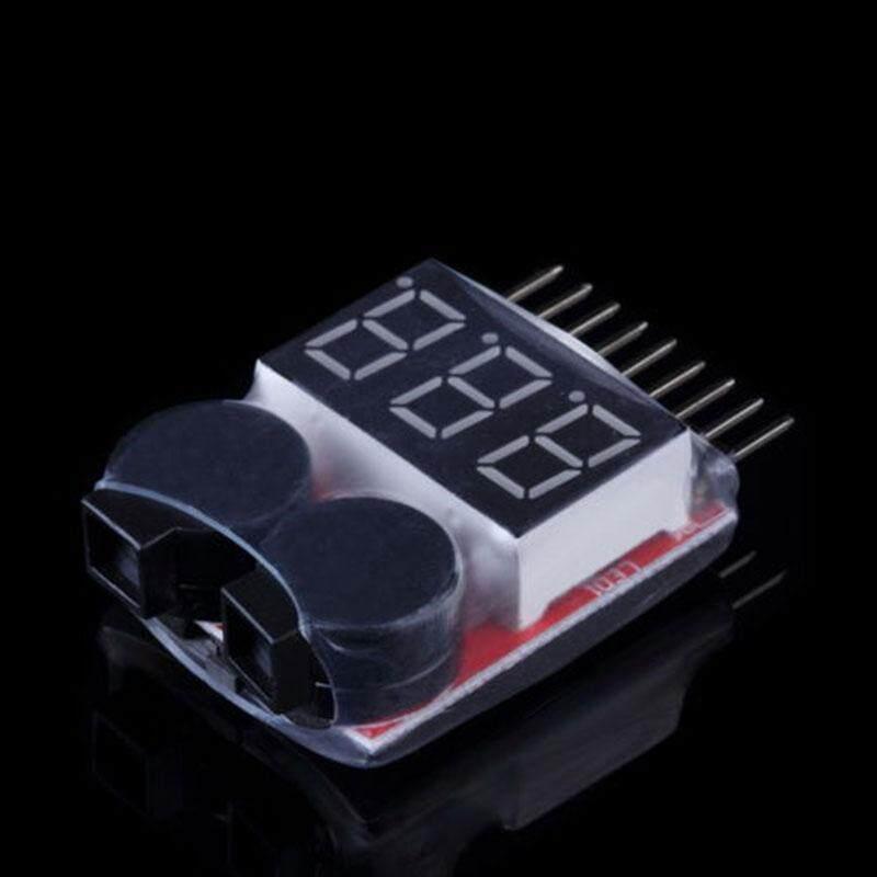 1S-8S RC Lipo Meter Checker Low Voltage Buzzer Alarm Indicator Tester