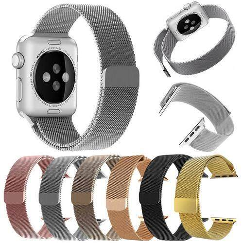 RYT Milanese Loop Strap & Link Bracelet Stainless Steel Band For Apple Watch Band 42mm/