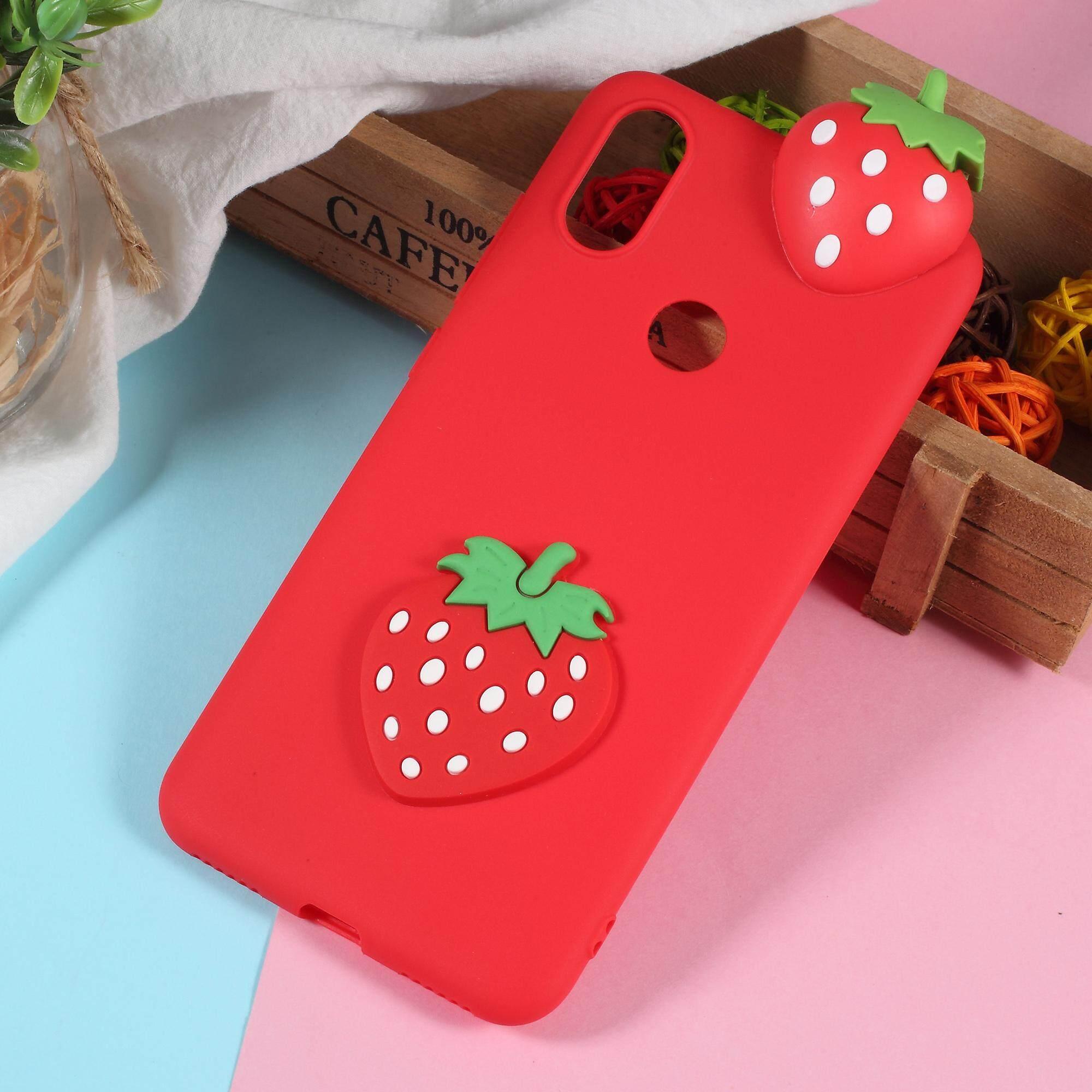 Cute 3D Cartoon Image Soft TPU Cell Phone Cover for Xiaomi Mi A2/Mi 6X (China)