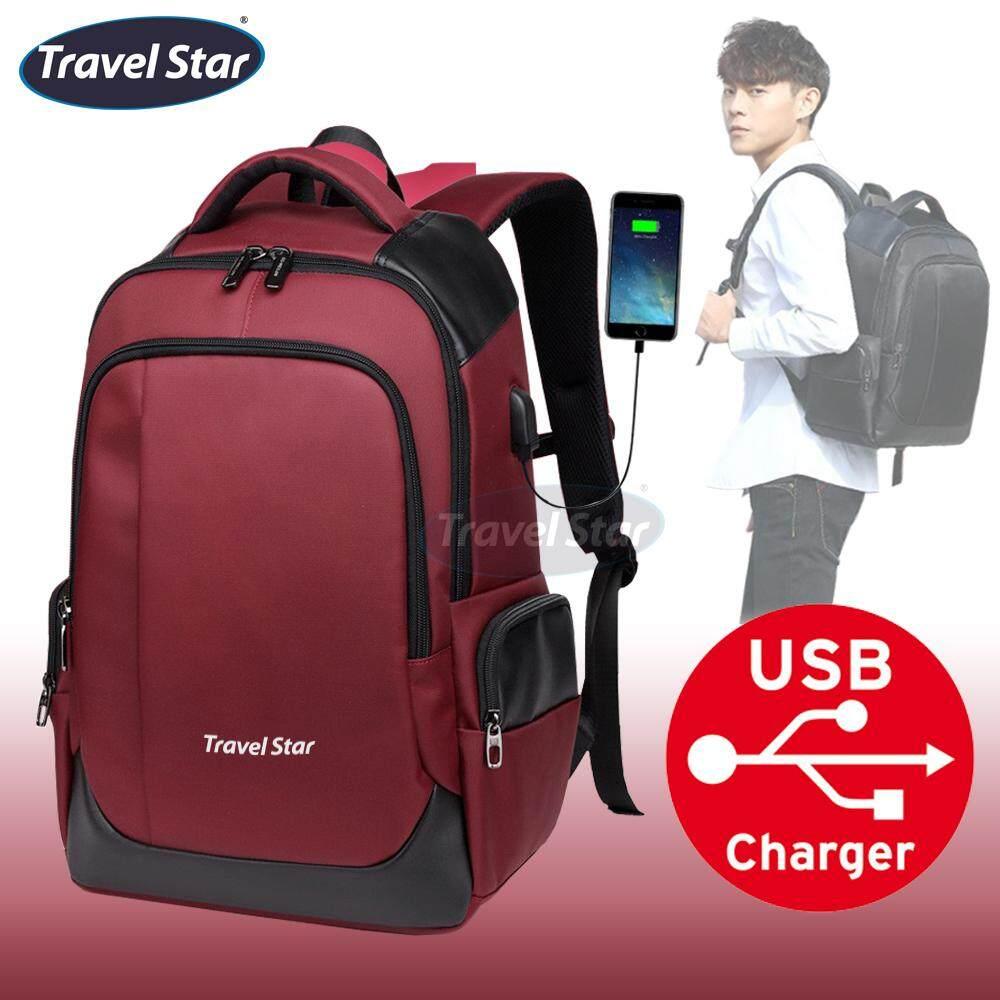 Travel Star 401 Premium Laptop Double Strap Elite Backpack Travel Backpack