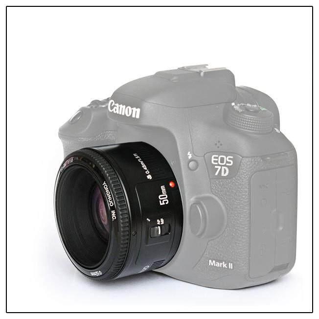 Yongnuo YN35mm F2 Lensa 1:2 AF/MF Wide-Angle Fixed/Prime Auto Lensa Fokus untuk Canon EF Mount eos Kamera-Intl