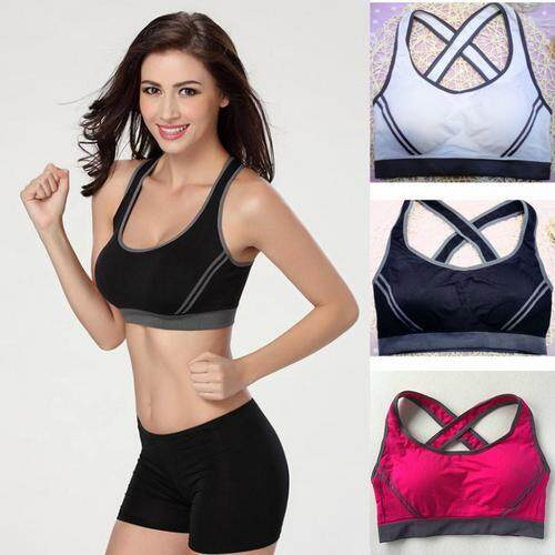Fitness Running Clothes For Women Jogging Yoga Racerback Sports Bra By Shenerda.