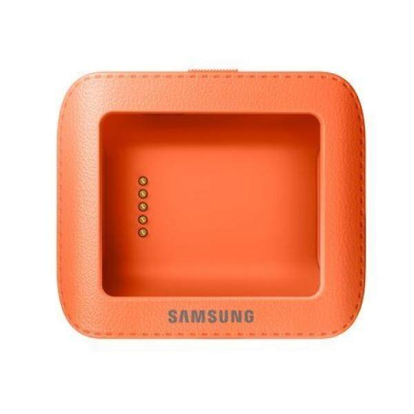 Samsung Galaxy Gear Smartwatch Dock Cradle Pengisi Daya (Wild Orange)-Intl