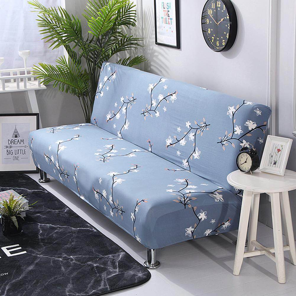 PER No Armrest Stretch Sofa Cover Slipcover All-Covered Folding Sofa Bed Cover Bed Fitted Sheet Universal Cover Sofa Towel