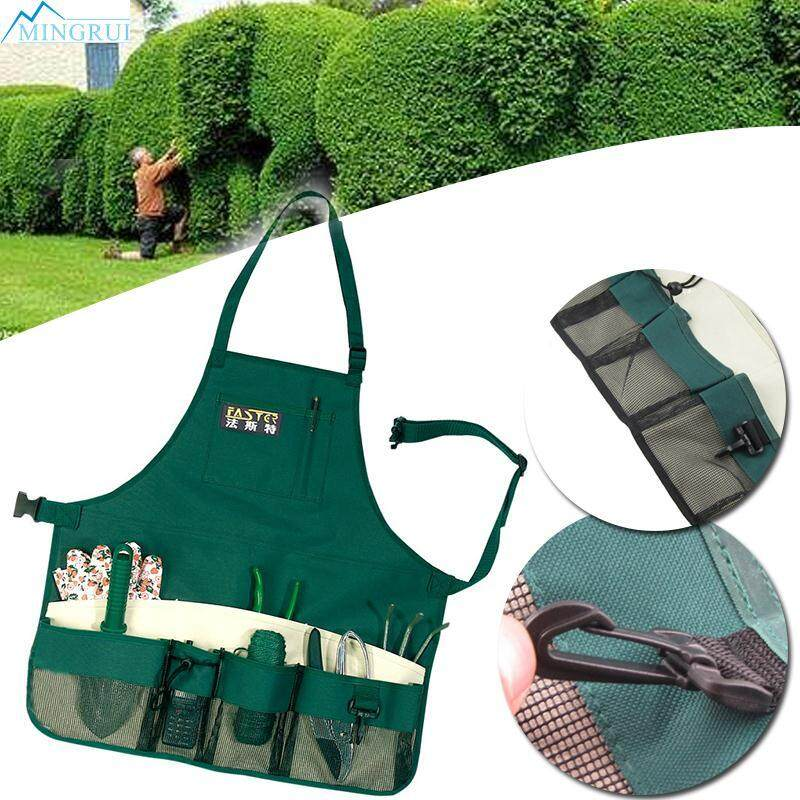 Gardener Storage Apron With/Pockets For Garden Planting Tools Waterproof