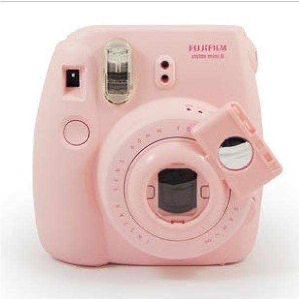 CAIUL Camera Style Instax Mini Close Up Lens Selfie Lens for Fujifilm Instax Mini 8 8+ 9 7s Camera and Polaroid PIC-300 (Pink)