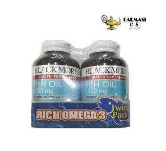 BLACKMORES Fish Oil 1000mg 2x120s