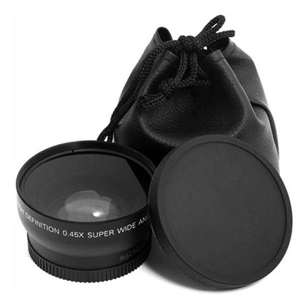 Lalove 52 Mm 0.45 X Makro Sudut Lebar Lensa untuk Nikon D3200 D3100 D5200 D5100-Intl
