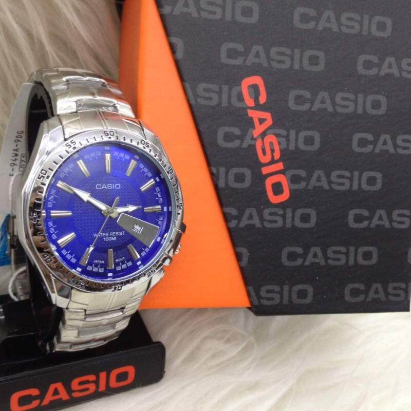 Casio Standard Unisex Standard Silver Watch (Silver) Malaysia